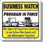 Business Watch Program in Force