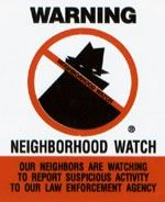 Neighborhood Watch Warning